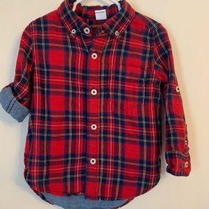 Gap Toddler Boy Button Front Shirt